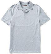 Michael Kors Textured Short-Sleeve Polo Shirt