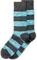 HUGO BOSS Men's Wide-Stripe Socks