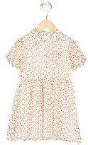 Alice + Olivia Girls' Silk Polka Dot Dress