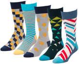 Invert Denim 5 Pairs Men's Crew Socks