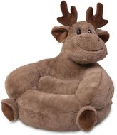 Trend Lab Plush Moose Chair in Brown