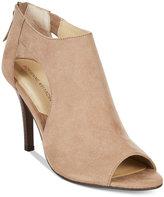 Adrienne Vittadini Genia Peep-Toe Sandals