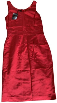 Hobbs Red Silk Dress for Women