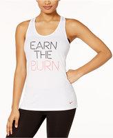 Nike Dry Earn the Burn Training Tank Top
