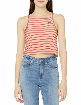 Obey Women's Cropped Knit Tank top