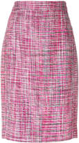 Akris Punto bouclé pencil skirt