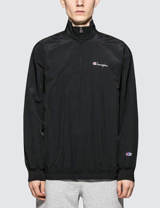 Champion Reverse Weave Half Zip Nylon Jacket