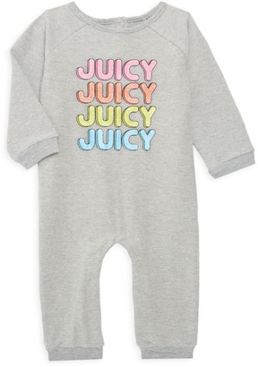 Juicy Couture Girl's Graphic Cotton-Blend Coveralls