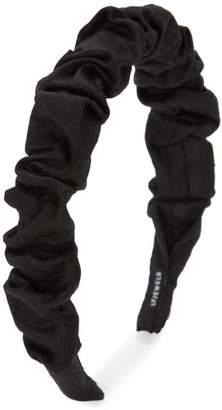 Lizzie Fortunato Ruched Silk Headband