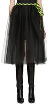 Marc Jacobs Black Tulle Wrap Skirt