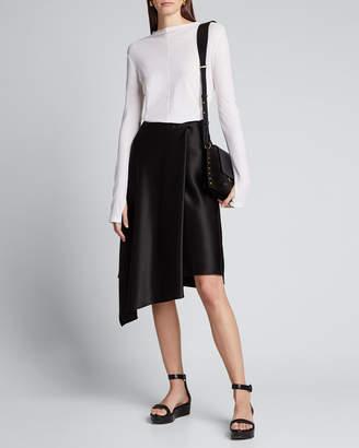 Helmut Lang Sheer Long-Sleeve Shirt