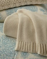 Pine Cone Hill Remy Knit Ivory Blanket King
