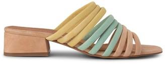 Shoe The Bear Multi Colour Pastel Cala Strap Mule - 36