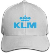 WLLUT CAP Women Men KLM Royal Dutch Airlines Adjustable Baseball Cap -6 Colors