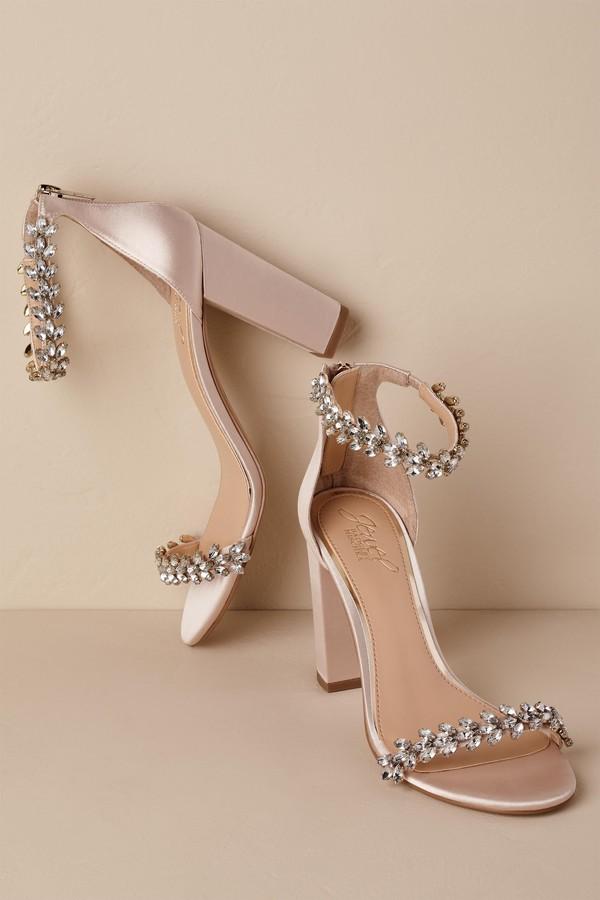 Badgley Mischka Jewel by Mayra Block Heels