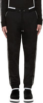 McQ by Alexander McQueen Black Stripe Lounge Pants