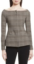 Theory Women's Hadfield Off The Shoulder Stretch Wool Jacket