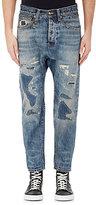 R 13 Men's Ian Drop-Rise Jeans-Blue Size 34