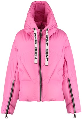 KHRISJOY Khris Puffer Full Zip Padded Hooded Jacket