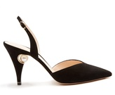 Nicholas Kirkwood Penelope pearl-embellished suede pumps