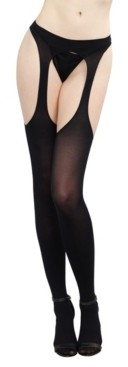 Dreamgirl Opaque Suspender Pantyhose