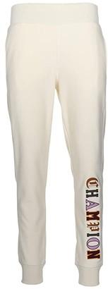 Champion Reverse Weave(r) Jogger - Old English (Chalk White) Women's Casual Pants