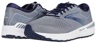 Brooks Beast '20 (Blue/Grey/Peacoat) Men's Running Shoes