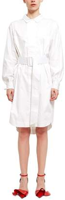 Opening Ceremony Belted Shirt Dress