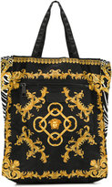 Versace signature print shoulder bag