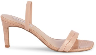 Saks Fifth Avenue Margaux Leather Heeled Sandals