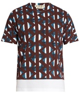 Marni Thrump-print Cotton T-shirt