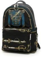 Dolce & Gabbana Marsina Print Nylon Backpack