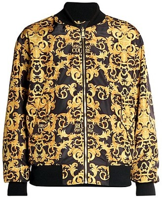 Versace Jeans Couture O-Reversible Baroque Bomber Jacket