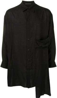 Yohji Yamamoto Layered Asymmetric Shirt