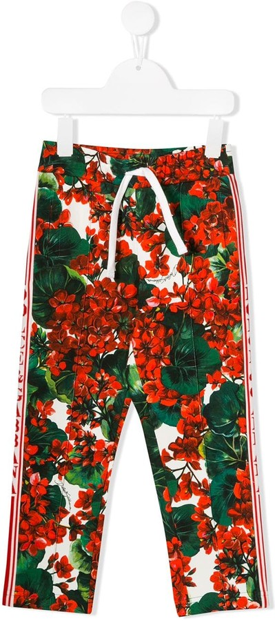 Dolce & Gabbana Portofino Print Track Trousers