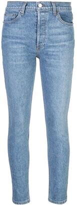 Reformation Serena skinny-fit jeans