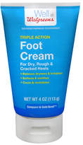 Walgreens Triple Action Foot Cream