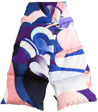 Emilio Pucci Printed Silk Padded Scarf
