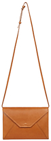 Gerard Darel L'Envelope Leather Shoulder Bag