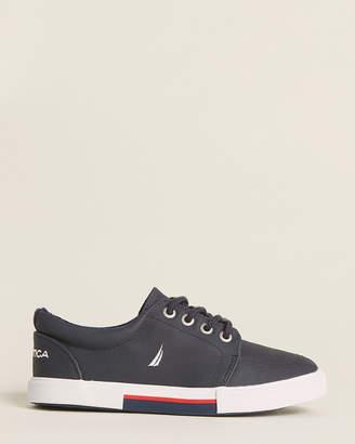 Nautica Kids Boys) Navy Berrian Low-Top Sneakers