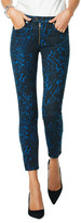 Ramy Brook Kate Animal-Print Skinny Jeans