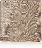 Barneys New York Embossed Leather Coaster