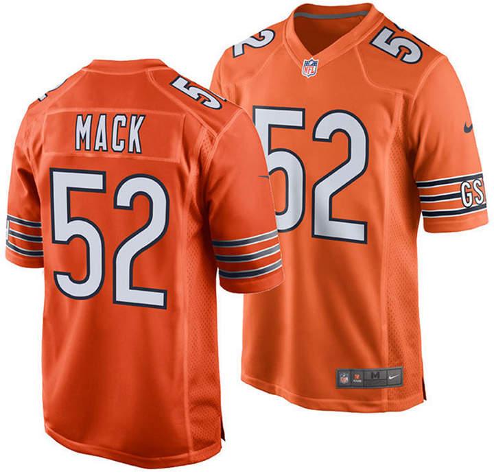 pretty nice 922d6 7c44d Men Khalil Mack Chicago Bears Game Jersey