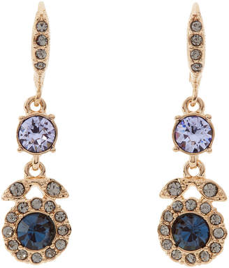 Givenchy Gold-Tone Embellished Drop Earrings