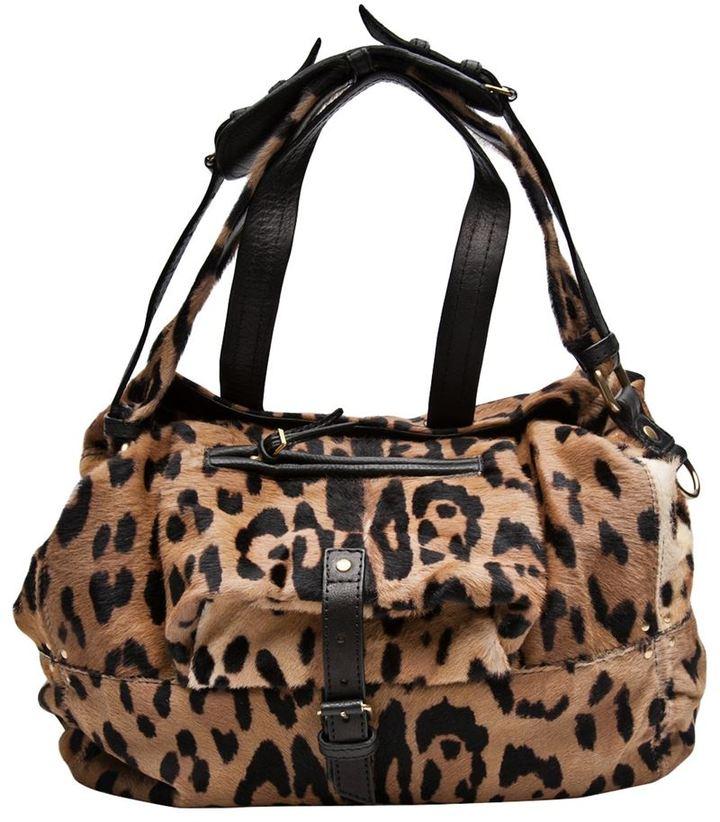 Jerome Dreyfuss Leopard billy bag
