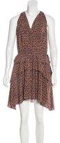 Derek Lam 10 Crosby Silk Floral Dress