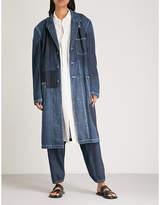 Yohji Yamamoto Patchwork denim jacket