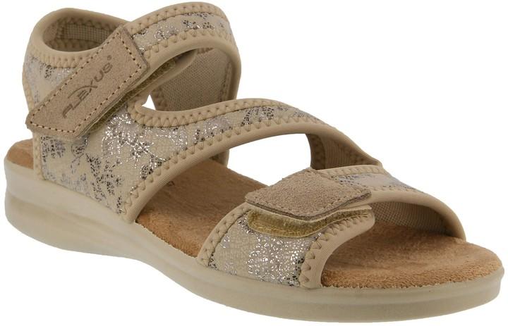 Spring Step Flexus by Lycra Ankle Strap Sandals- Yrutta