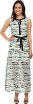 Kensie Women's Watercolor Stripe Dress