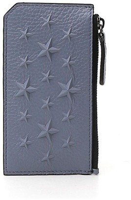 Jimmy Choo Casey Star Embossed Card Holder